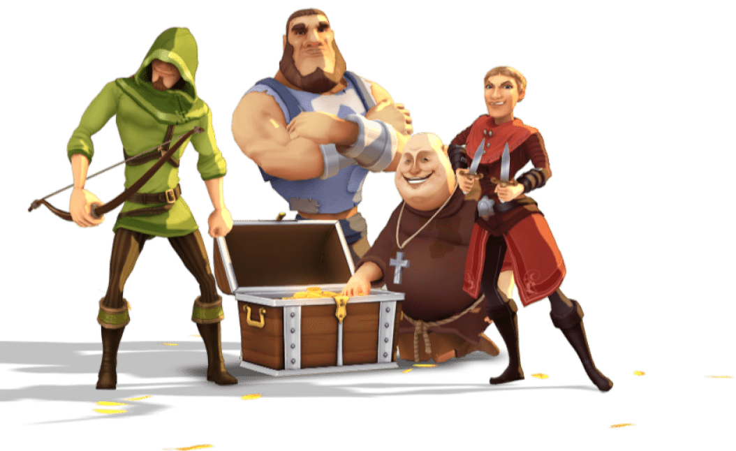 Illustration From Robin Hood: Shifting Riches Game in the Best Online Casino